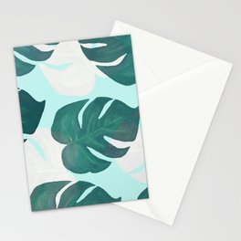 Palm leaves extravaganza Stationery Cards