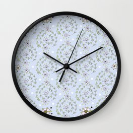 floweround Wall Clock