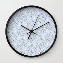 floweround Wall Clock