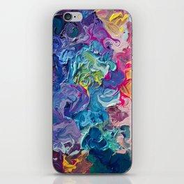 Aurora Swirls iPhone Skin