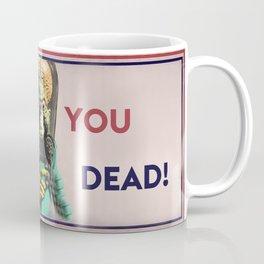 Mars Attacks Want YOU Coffee Mug