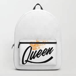Queen Crown for powerful girls, girl power Backpack