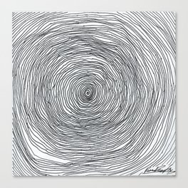 Spiralling Out of Control Canvas Print
