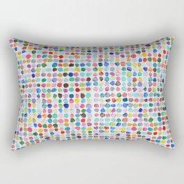 Mod Dots Rectangular Pillow