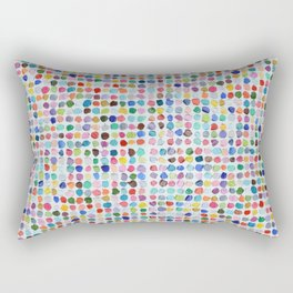 Mod Dots Rectangular Pillow
