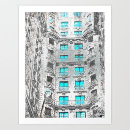 Astor Art Print