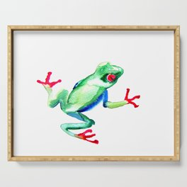 Tree Frog Serving Tray