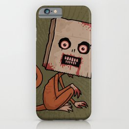 Psycho Sack Monkey iPhone Case