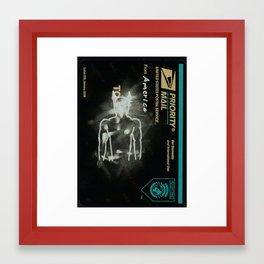 america. Framed Art Print