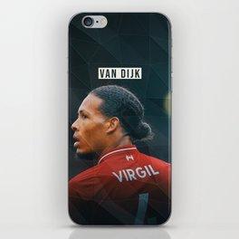 Virgil van Dijk iPhone Skin