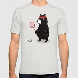 Badminton Bear T-shirt