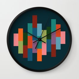 Music in Color | Upbeat Wall Clock