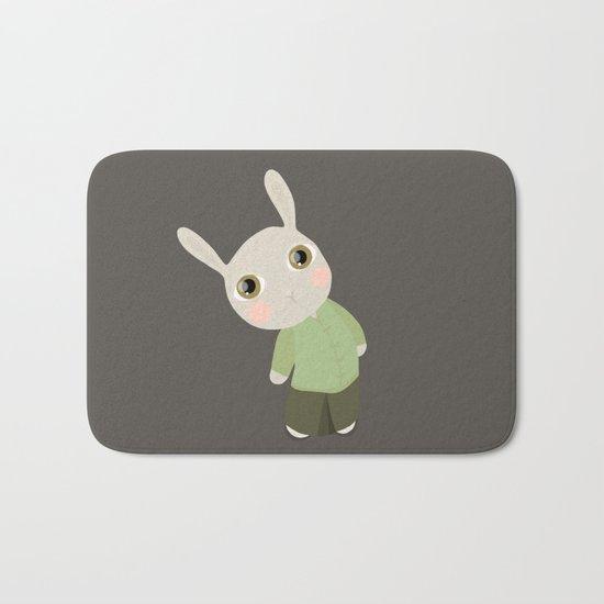 Chinese Rabbit Bath Mat