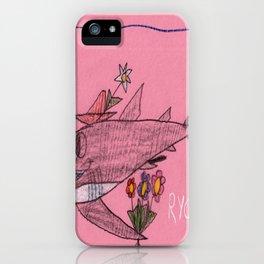 Shark Goin' A Courtin' iPhone Case