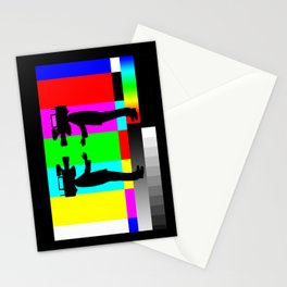 We Met On Set Stationery Cards