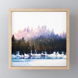 fairy kingdom art altered landscape photography Framed Mini Art Print