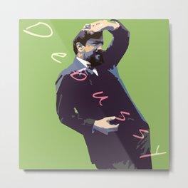 Debussy Metal Print