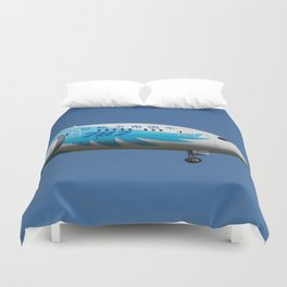 China Southern Airlines Boeing 787 Duvet Cover