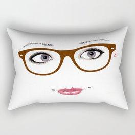 Hipster Eyes 1 Rectangular Pillow
