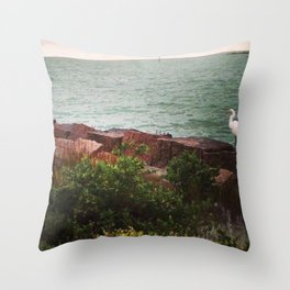 Calm in Corpus Christi Throw Pillow