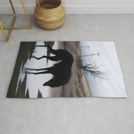 Sign of the Wolf Rug