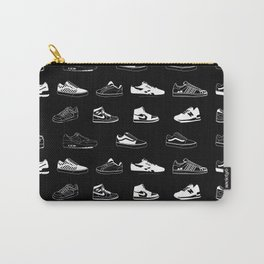 Black Sneaker Carry-All Pouch