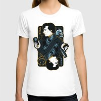 221b T-shirts featuring The Detective of 221B by WinterArtwork