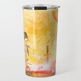 Monsieur Bone and Excalibur Travel Mug