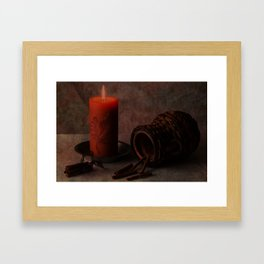 By Candlelight Framed Art Print