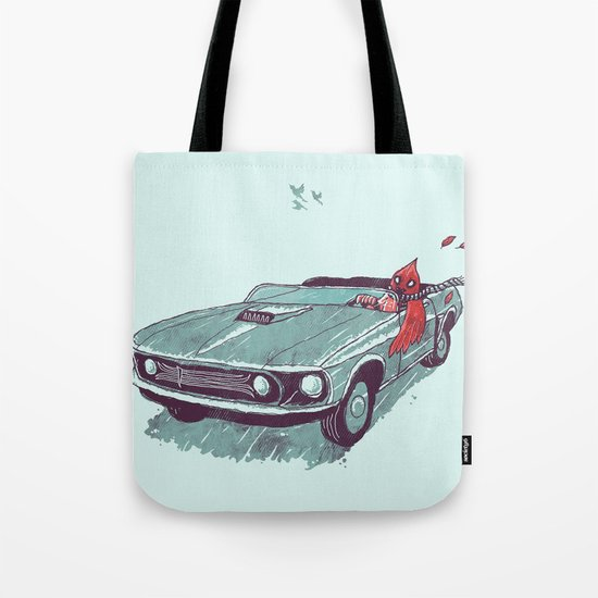 Fear of Flying Tote Bag