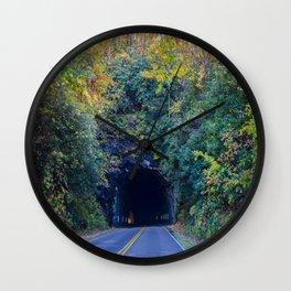 Dream tunnel  Wall Clock