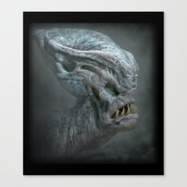 Bulbous Alien Canvas Print