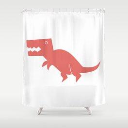 Dinomania - The T-Rex Shower Curtain