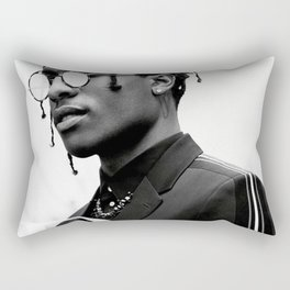 ASAP Poster Rocky Diore Print Rectangular Pillow