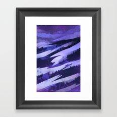 Blanket of Clouds Framed Art Print