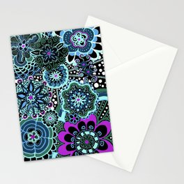 Mandala Floral Loveliness--Variation Stationery Cards