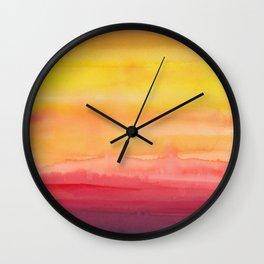 Heat waves Wall Clock