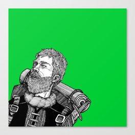 Faerwald: the Wayfarer  Canvas Print