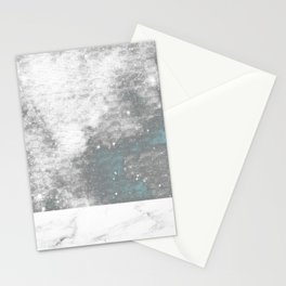 Marble and The Galaxy Stationery Cards