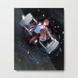 Kurisu Makise Steins Gate Metal Print