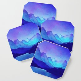 Cerulean Blue Mountains Coaster