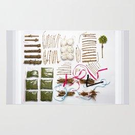 Packed Christmas Rug