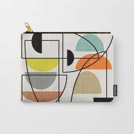 """Mid Century Modern """"Bowls"""" Carry-All Pouch"""