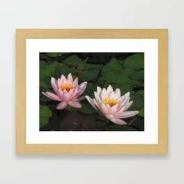 Our Refections Framed Art Print