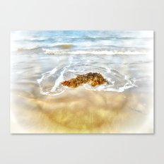 WASHED AWAY TO THE SEA Canvas Print