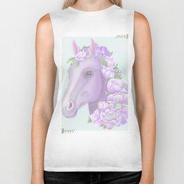 The Purple Horse Biker Tank