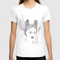 fashion illustration T-shirts featuring Fashion Illustration by ValeriaZ