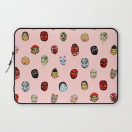 Masks in Asakusa Laptop Sleeve