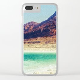 Summer Vaca Clear iPhone Case