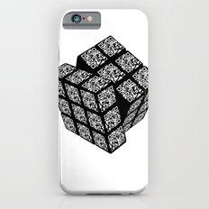 qr cube iPhone 6s Slim Case